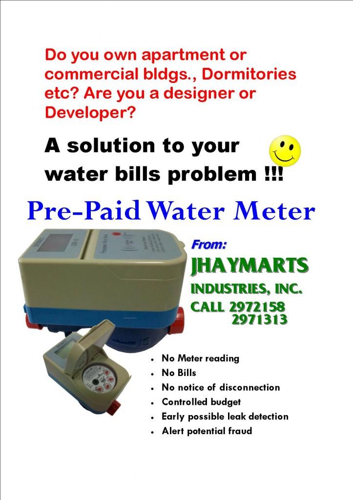 Pre Paid Water Meter